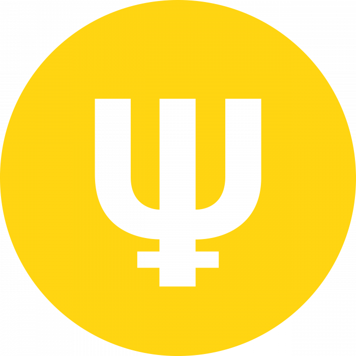 Primecoin logo yellow