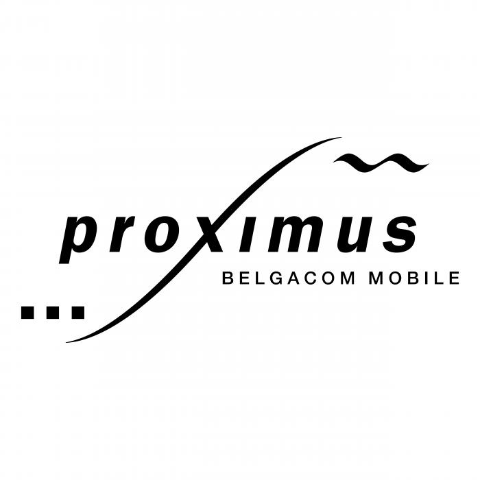 Proximus logo black