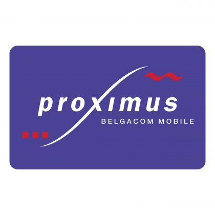 Proximus logo blue
