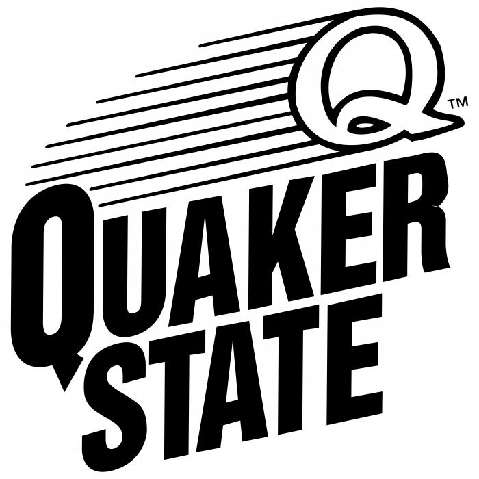 Quaker State logo black