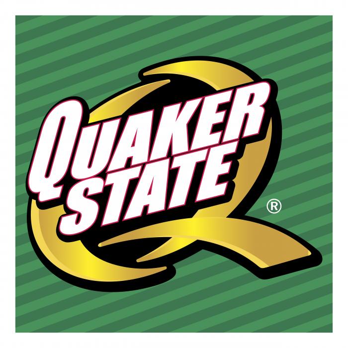 Quaker State logo cube