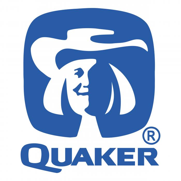 Quaker logo blue