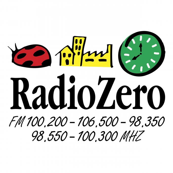 Radio Zero logo colour