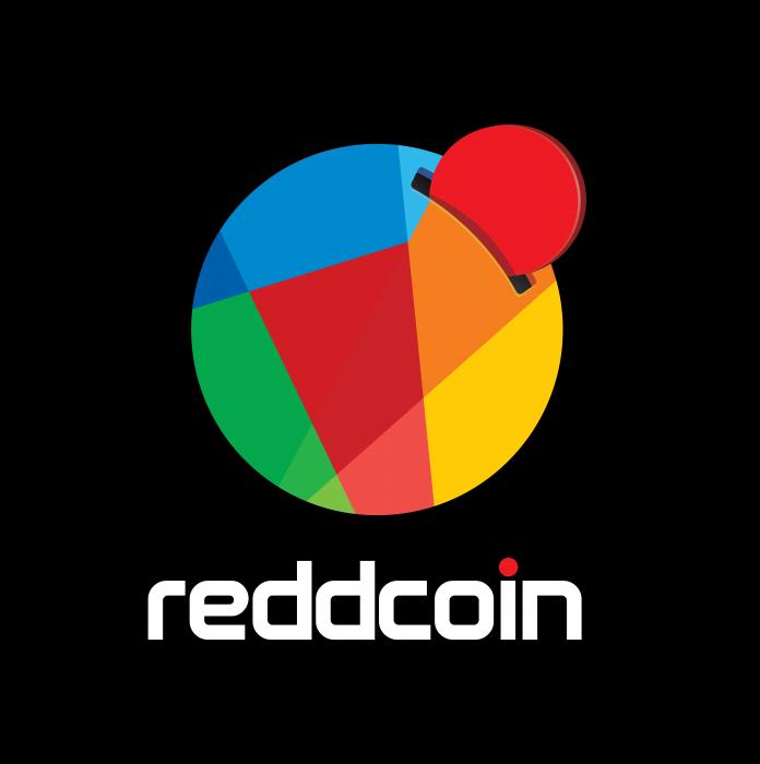 Reddcoin logo cube