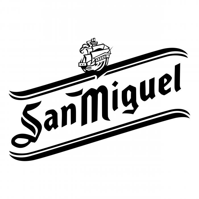 San Miguel logo black