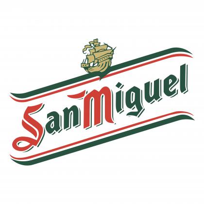 San Miguel logo colour