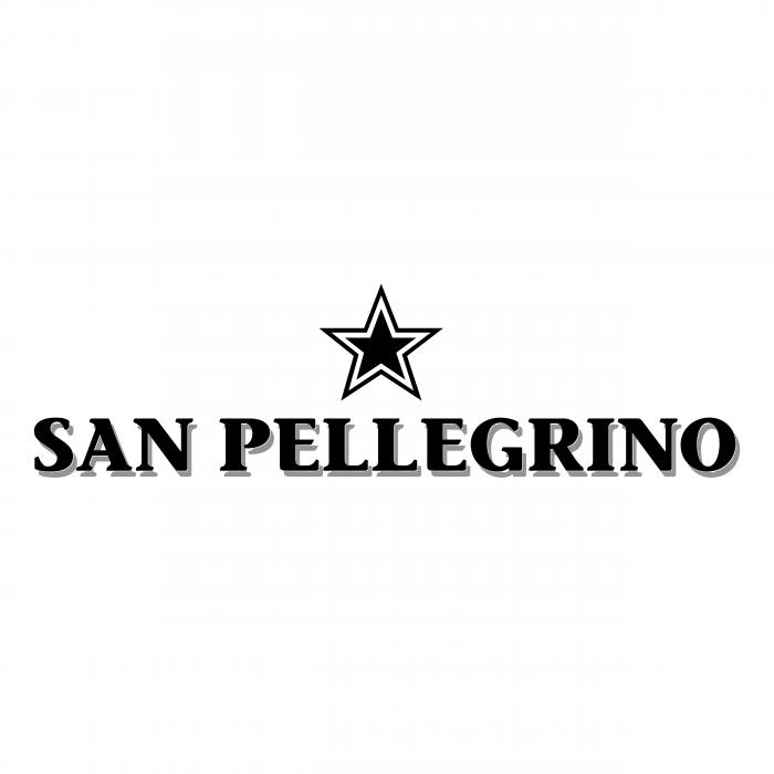 Sanpellegrino logo black