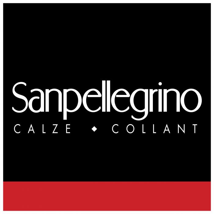Sanpellegrino logo cube