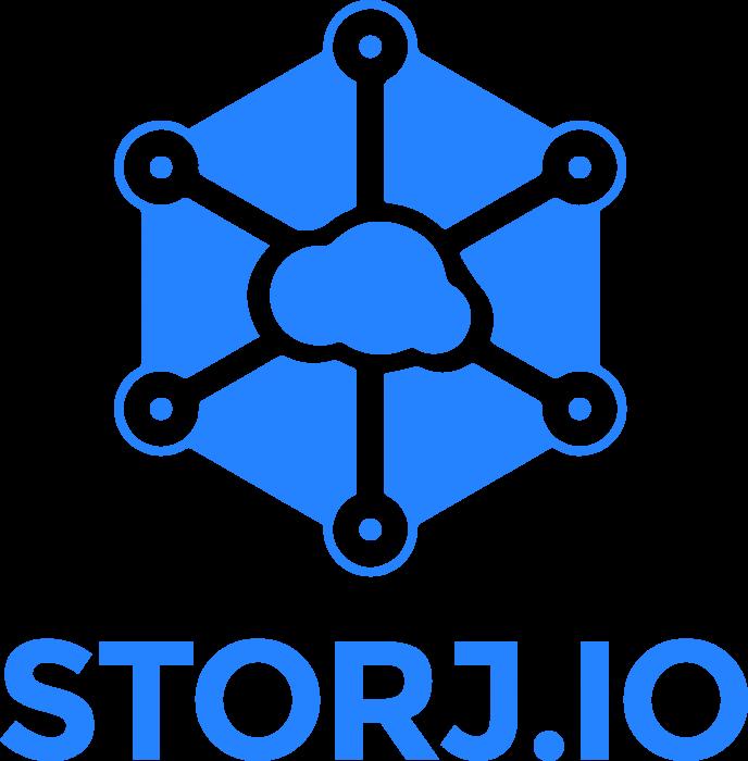 Storj logo coin