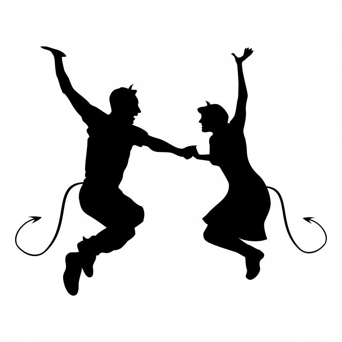 Swing Devils logo jump