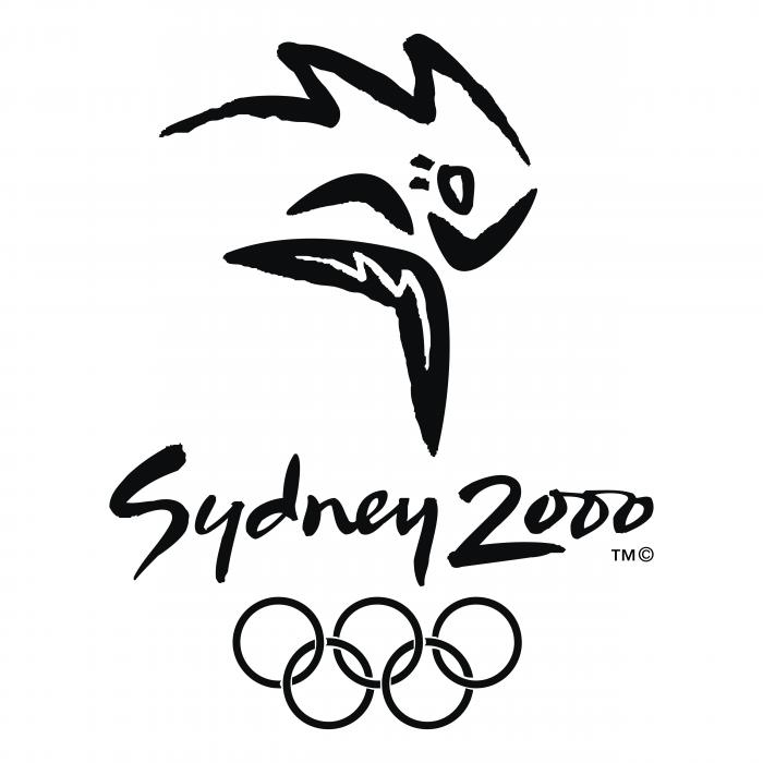 Sydney 2000 logo black