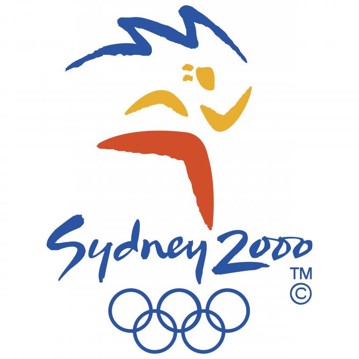 Sydney 2000 logo c