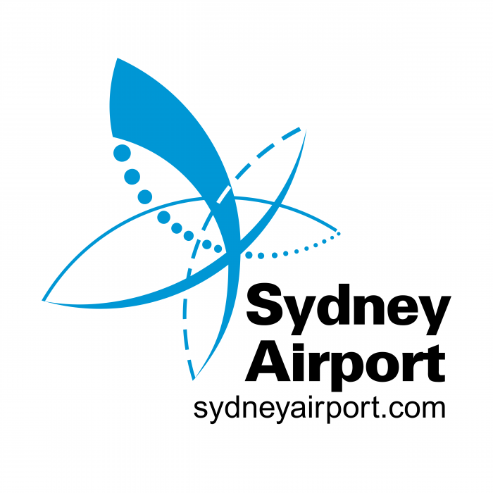 Sydney Airport logo blue