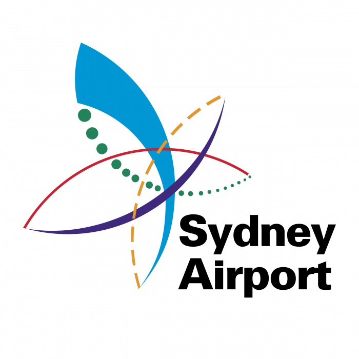 Sydney Airport logo colour