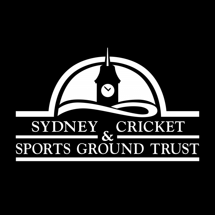 Sydney Cricket Sports Ground Trust logo black