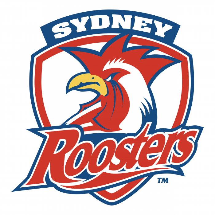 Sydney Roosters logo red