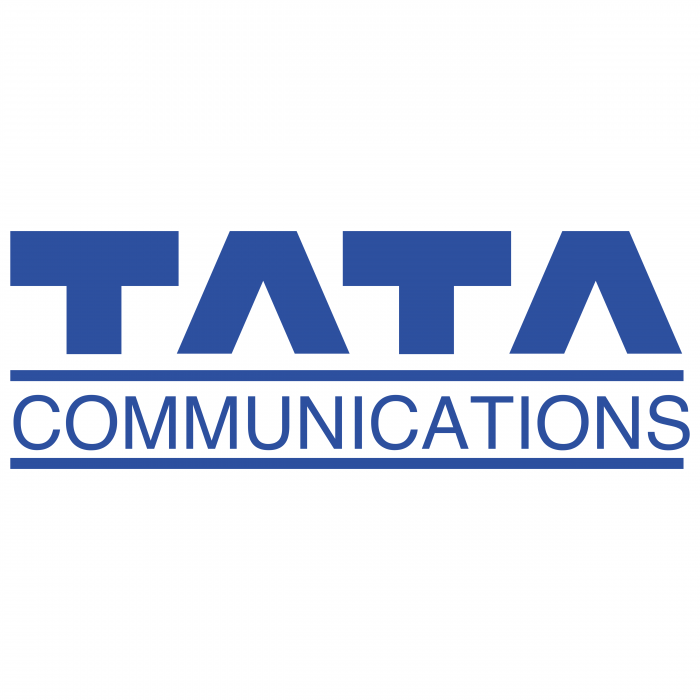 TATA Communications logo blue