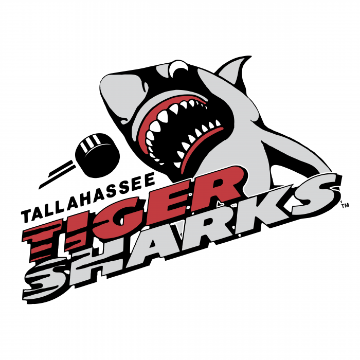 Tallahassee Tiger Sharks logo colour