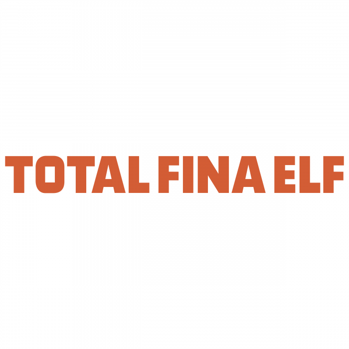 Total Fina Elf logo orange