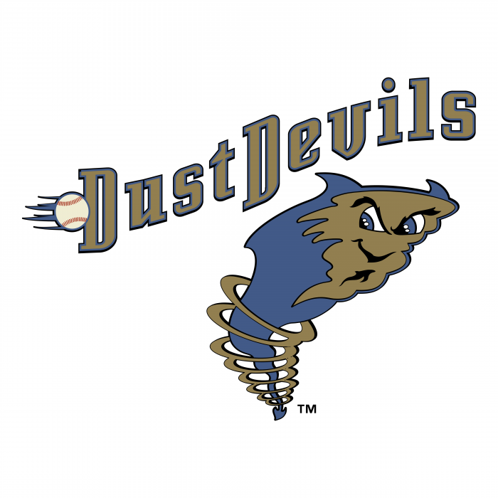 Tri City Dust Devils logo colour