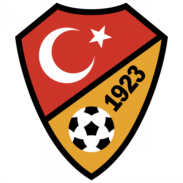 Turkey Football Association logo 1923