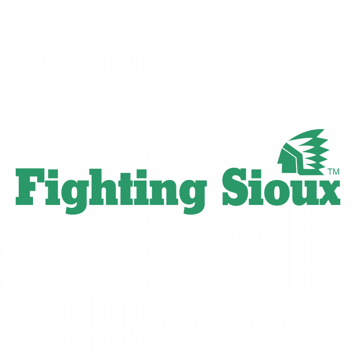 UND Fighting Sioux logo green