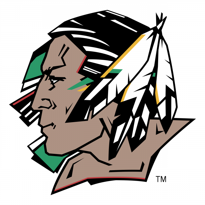 UND Fighting Sioux logo head