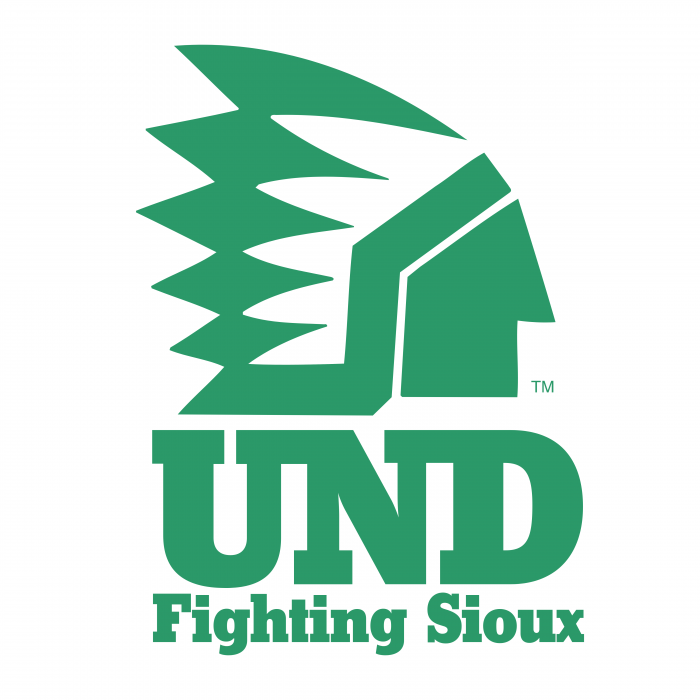 UND Fighting Sioux logo sport