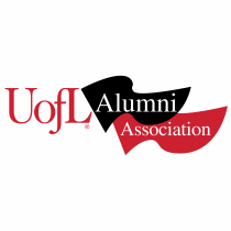 UOFL Alumni Association logo red
