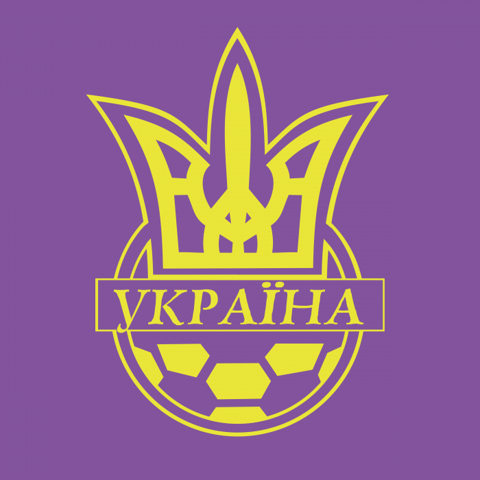 Ukraine Football Association logo violet