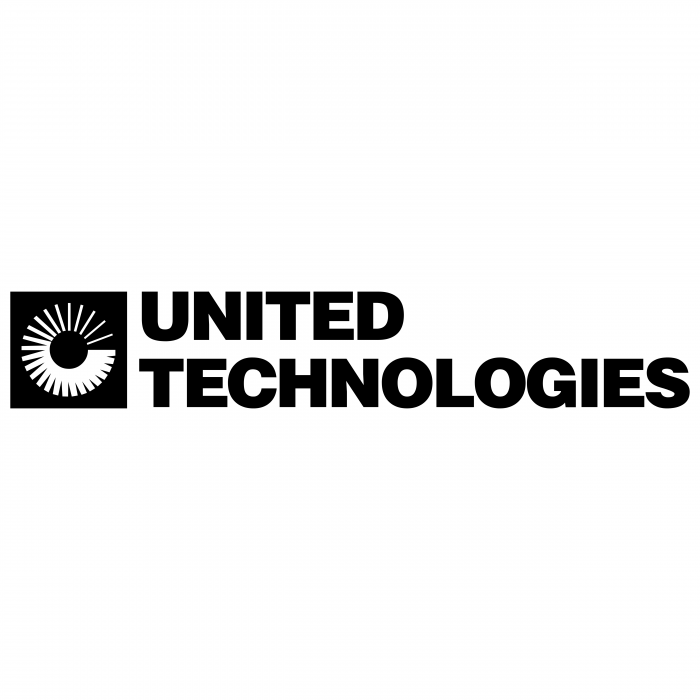 United Technologies logo black