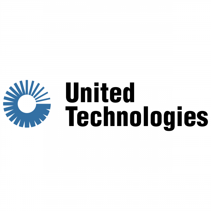 United Technologies logo blue