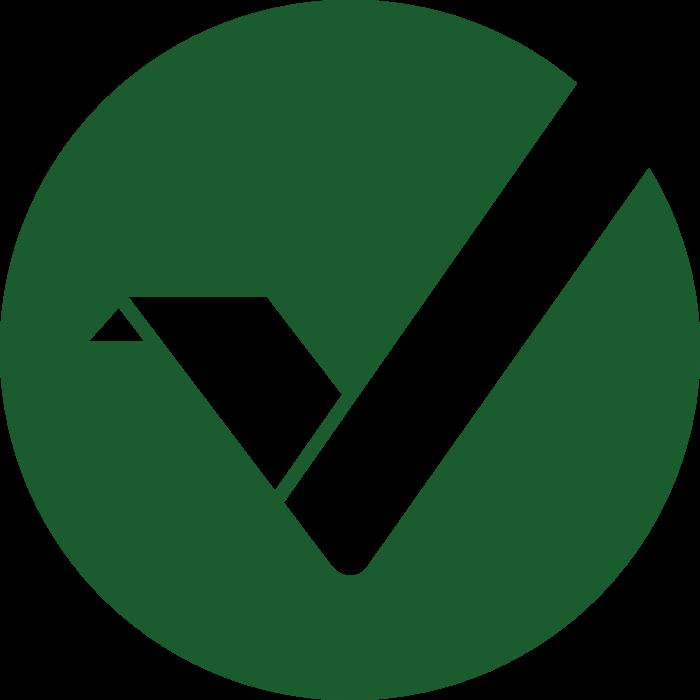 Vertcoin VTC logo green