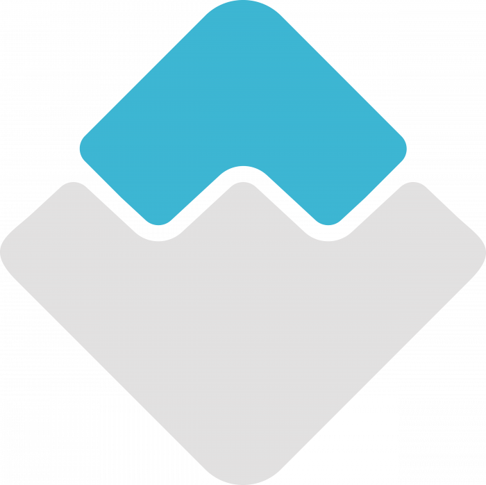 Waves logo coin1