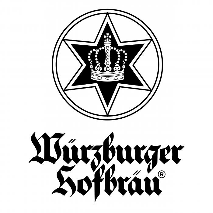 Wuerzburger Hofbraeu logo black