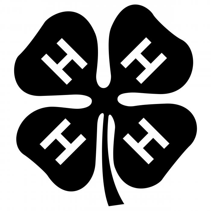 4 H logo black