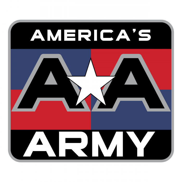 America's Army logo colour