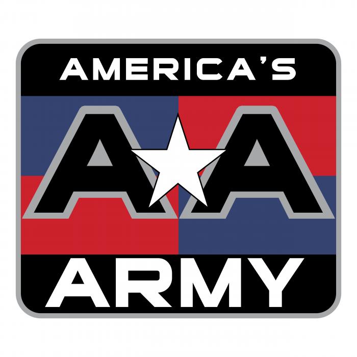 America's Army logo colour