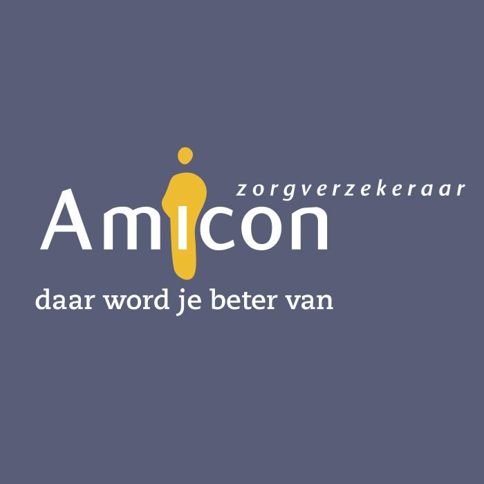 Amicon Zorgverzekeraar logo cube