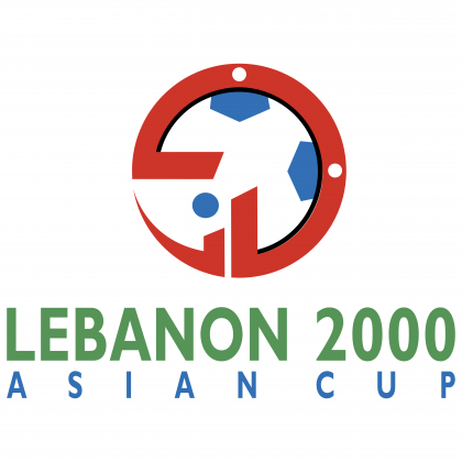 Asian Cup Lebanon logo 2000