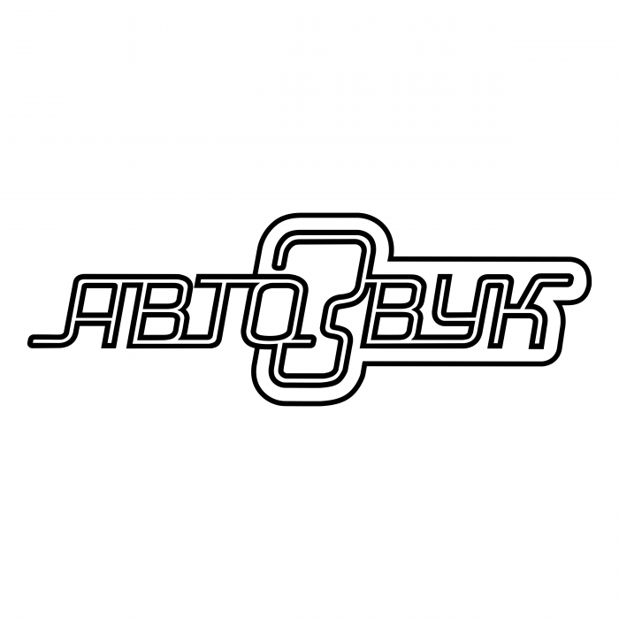Avtozvuk logo white
