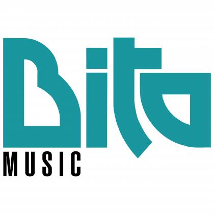 Bita Music logo blue