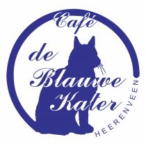 Blauwe Kater logo blue