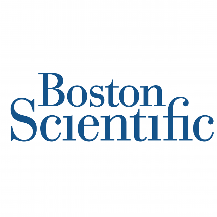Boston Scientific logo blue