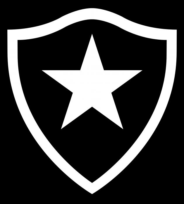 Botafogo logo black
