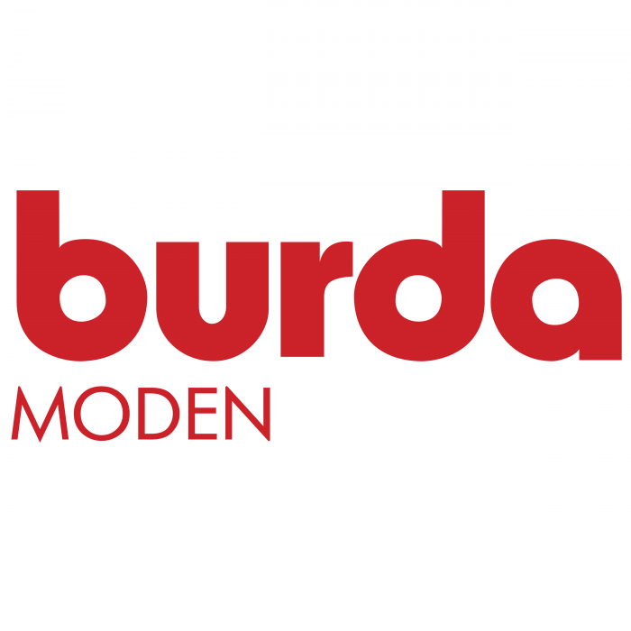 Burda Moden logo red