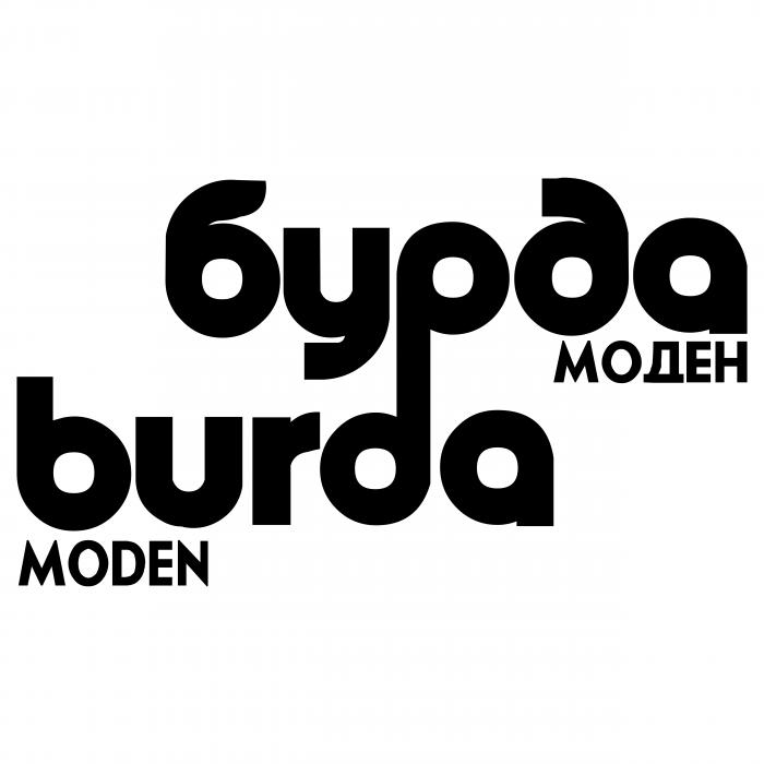 Burda Moden logo rus