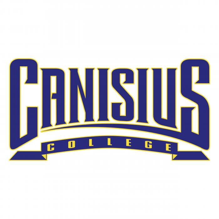 Canisius College Golden Griffins logo black