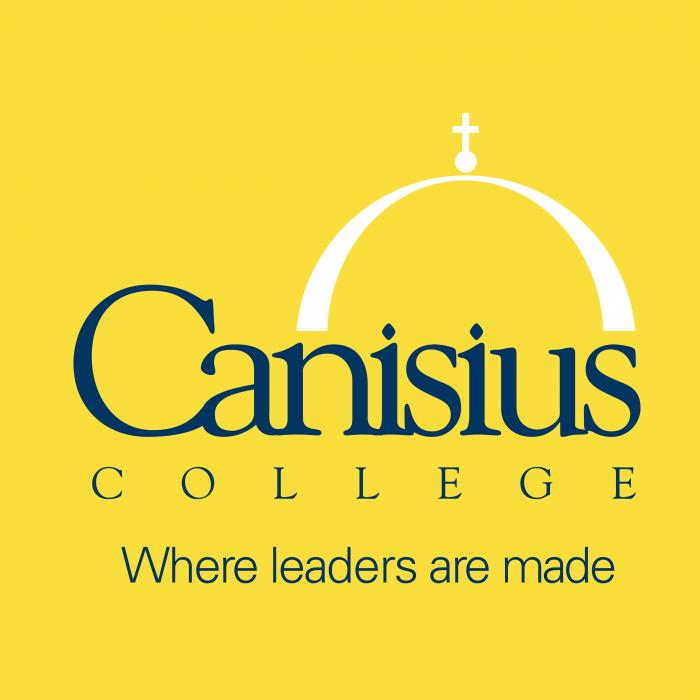 Canisius College logo pink