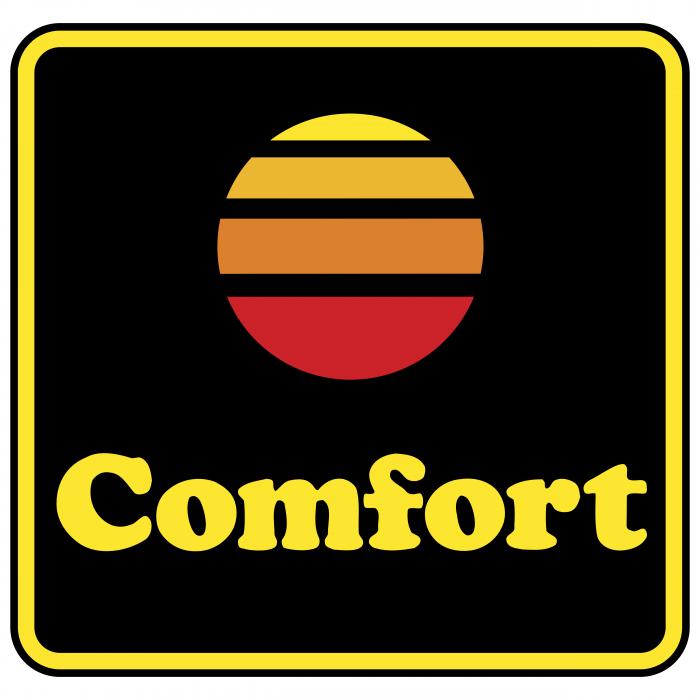 Comfort logo yellow